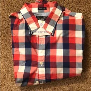 Men's Abercrombie super slim button up